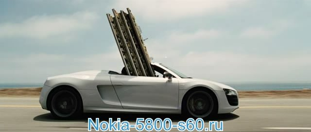 фильмы для Нокиа 5800, Nokia 5530, 5230, N97, Нокиа X6 - Железный Человек 2 / Iron Man 2