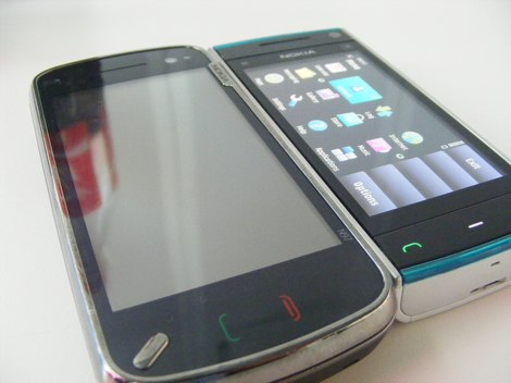фото Nokia X6 blue yellow photo - Нокиа Х6 синего и желтого цвета