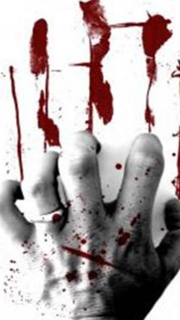 Скачать шпалеры про Nokia 0800, N97 равным образом 0530 ужасы, страшные картинки, скелеты, черепа, кровь, демоны