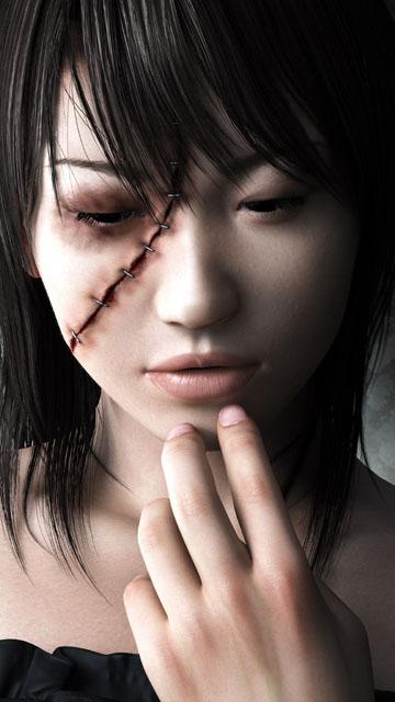 Скачать шпалеры в целях Nokia 0800, N97 да 0530 ужасы, страшные картинки, скелеты, черепа, кровь, демоны