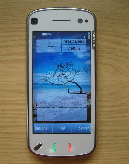 Фото Nokia N97, Sony Ericsson Xperia X1 и Google G1 (Android)