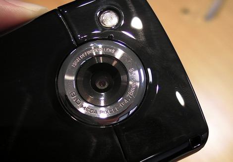 Samsung Omnia HD camera - камера Самсунг Омниа ХД видеокамера