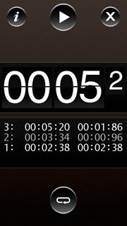 Программа Timer (секундомер) для Нокиа 5800 Nokia, скачать