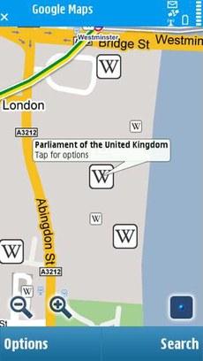 Программа Google Maps для Nokia 5800 Нокиа 5530 N97 - скачать, загрузить карты, GPS навигация