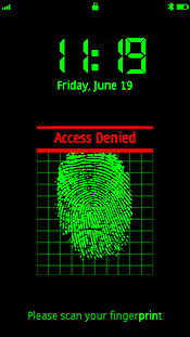 Программа FingerPrint (сканер отпечатков пальцев) для 5800, N97, 5530 скачать