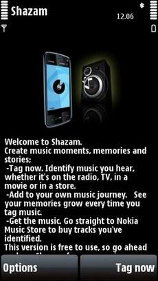 Программа Shazam для Nokia 5800 скачать