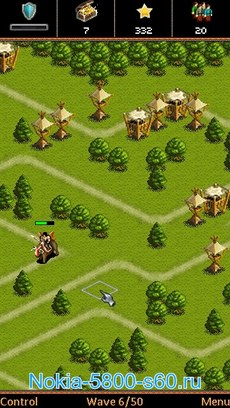Скачать игры  для Nokia 5800 Нокиа N97 5530 стратегия Sid Meiers Civilization IV Full Touch Tower Defense