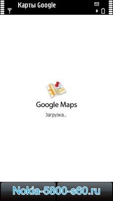 Google Maps для Nokia 5800 Нокиа