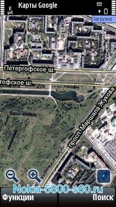Google Maps для Nokia 5230 Нокиа
