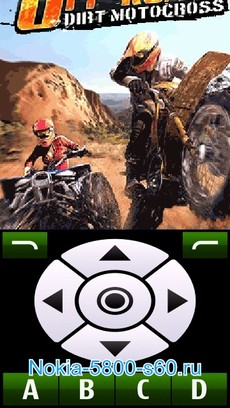Скачать игру Xtreme Dirt Bike Off-Road - гонки для Nokia 5800, N97, 5530