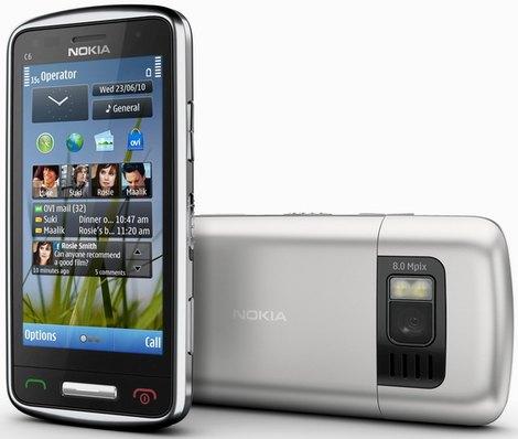 Характеристики Nokia C6-01