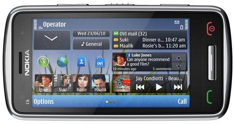 Цена Nokia C6