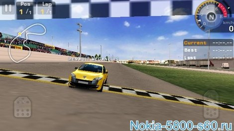 Игра GT Racing: Motor Academy HD для Nokia С6-01 скачать игры