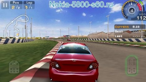 Игра GT Racing: Motor Academy HD для Nokia E7 скачать игры