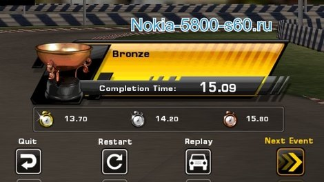 GT Racing Motor Academy HD для Symbian^3