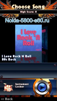 Guitar Rock Tour 2 HD - игры для Nokia С7