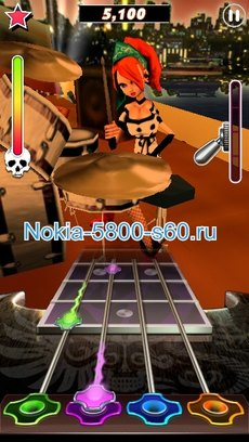 Guitar Rock Tour 2 HD - игры для Nokia E7