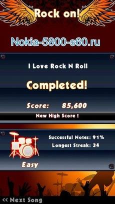 Игра Guitar Rock Tour 2 HD для Нокиа Н8