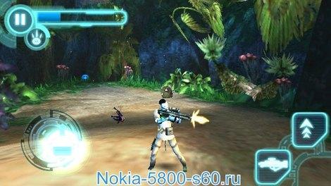 Игра James Cameron`s Avatar HD (Аватар  Джеймса Камерона) - игры для Symbian^3