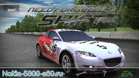 Игра Need for Speed Shift для Nokia N8, C7, E7, C6-01