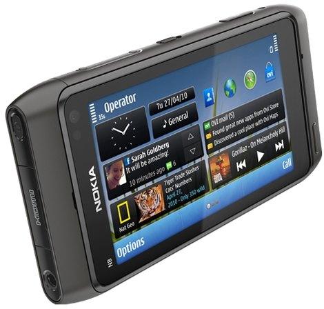 Nokia N8 серый, черный