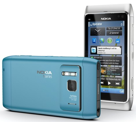 Nokia N8 камера