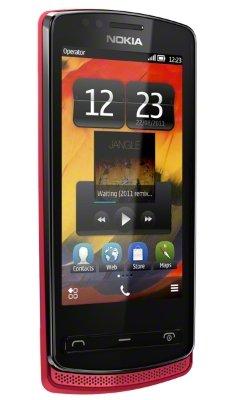 Nokia 700 черный с красным