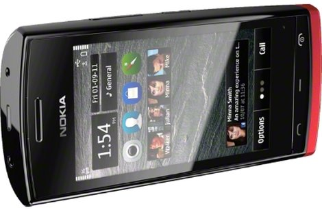 Nokia 500 красный