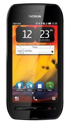Nokia 603 черный