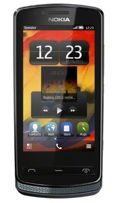 Nokia 700 черный