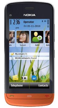 Мобильный телефон Nokia C5-06 black orange
